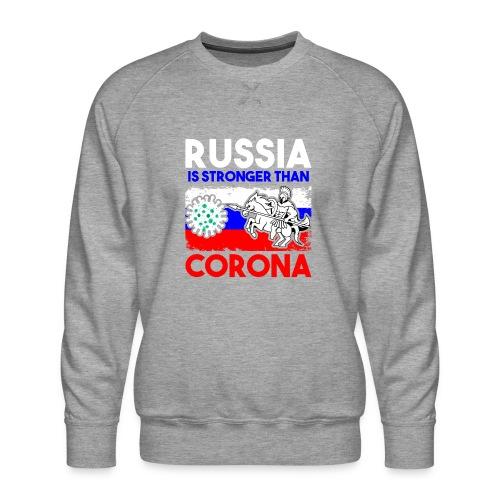Russia against Corona - Männer Premium Pullover