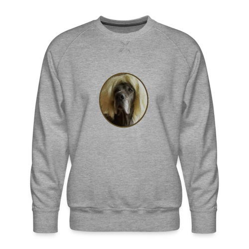 D O G G E mit Perücke - Männer Premium Pullover