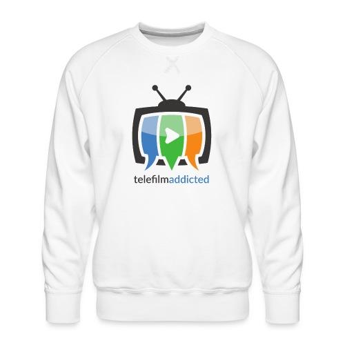 Telefilm Addicted Logo - Felpa premium da uomo