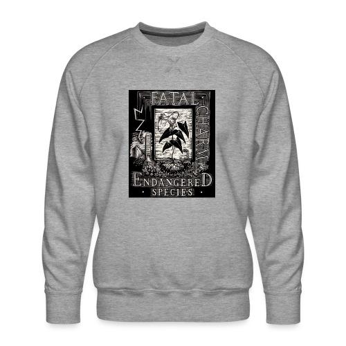 fatal charm - endangered species - Men's Premium Sweatshirt