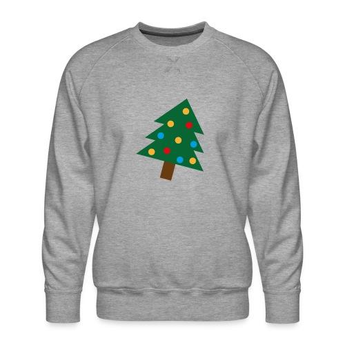 Weihnachtsbaum für hässliche Weihnachten - Männer Premium Pullover