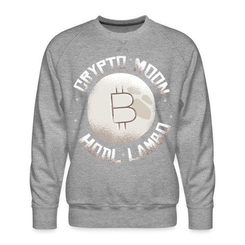 Crypto to the Moon BTC - Männer Premium Pullover