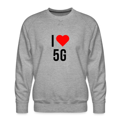 ilove5g - Männer Premium Pullover