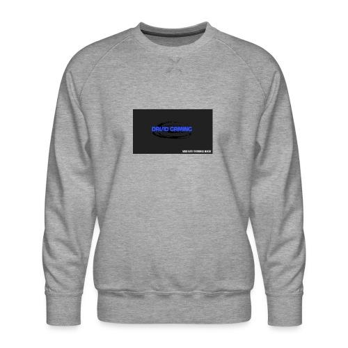 Schwarzes logo4 - Männer Premium Pullover
