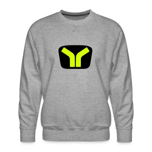 Yugo logo colored design - Men's Premium Sweatshirt