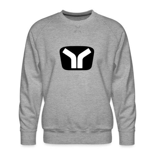 Yugo Logo Black-White Design - Men's Premium Sweatshirt