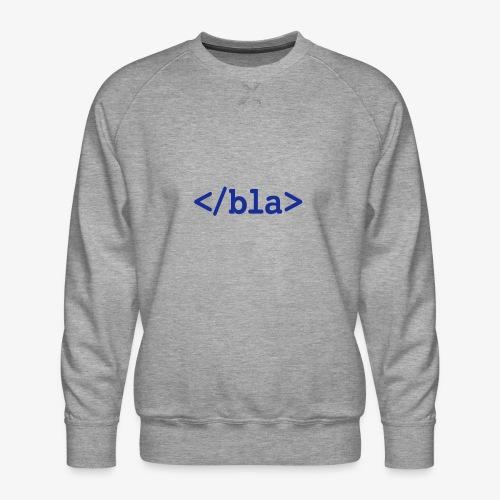 Bla HTML - Männer Premium Pullover