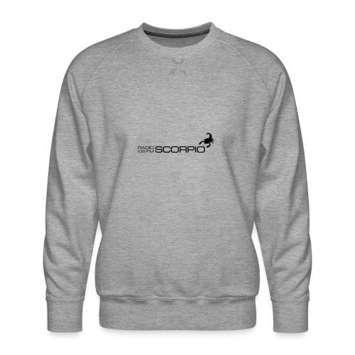 scorpio logo - Mannen premium sweater