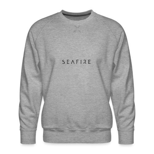 seafire logo BLACK - Mannen premium sweater