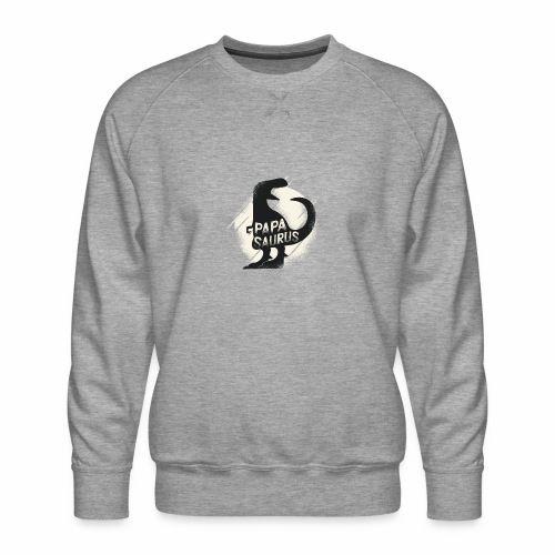 Papasaurus - Männer Premium Pullover
