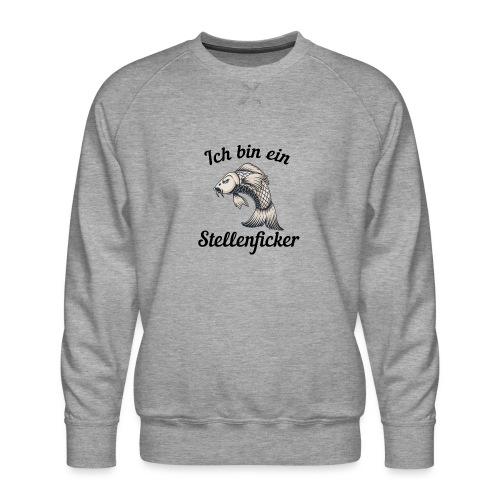 Ich bin ein Stellenficker Karpfen - Männer Premium Pullover