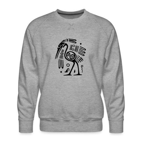 Kranich - Männer Premium Pullover