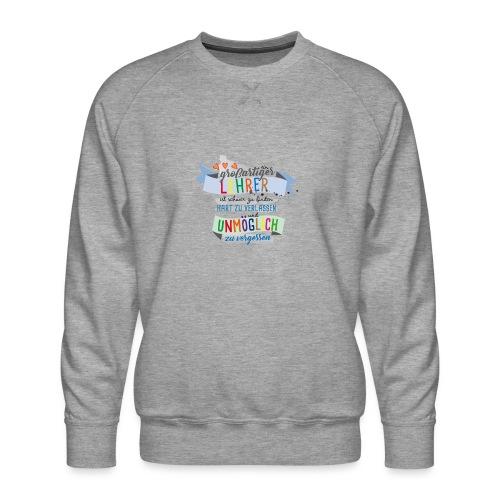 Großartiger Lehrer - Männer Premium Pullover