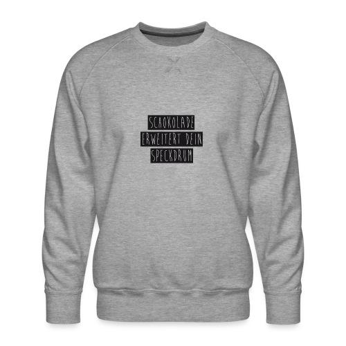 Schokolade - Männer Premium Pullover