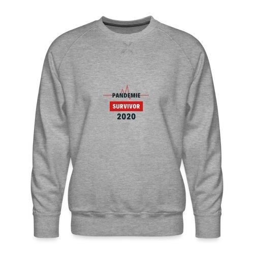 Pandemie Survivor - Männer Premium Pullover
