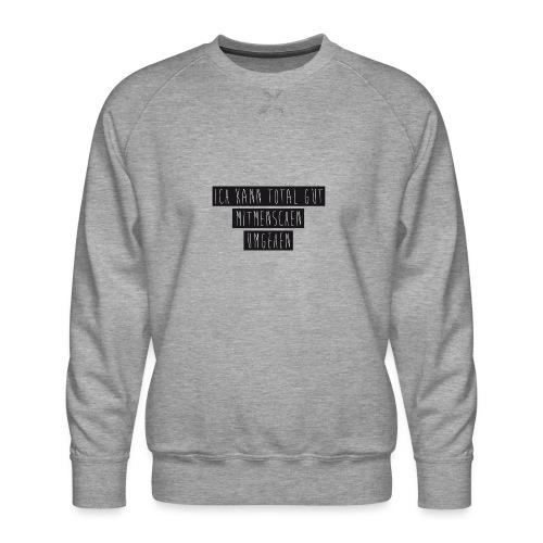 Mitmenschen - Männer Premium Pullover