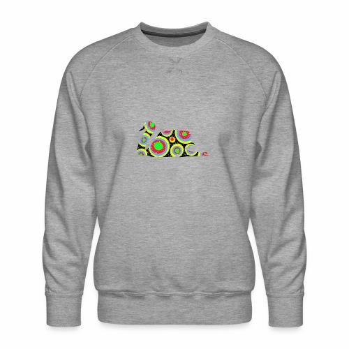 Bunter Schwan mit vielen tollen Farben - Männer Premium Pullover