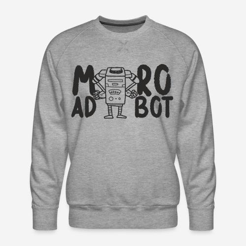 mad robot - Männer Premium Pullover