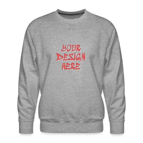 TextFX - Men's Premium Sweatshirt