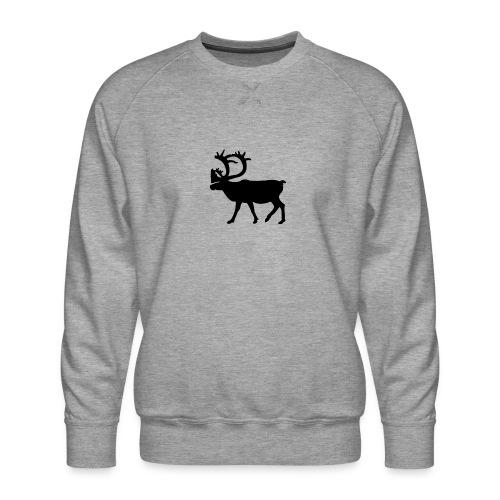 Le Caribou - Sweat ras-du-cou Premium Homme