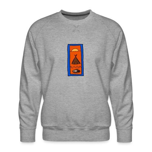 Samisk motiv - Premium-genser for menn