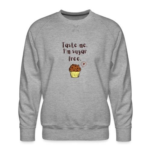 Sugar free muffin - Männer Premium Pullover