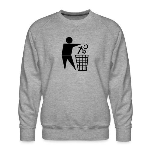 Anti Religion # 1 - Men's Premium Sweatshirt