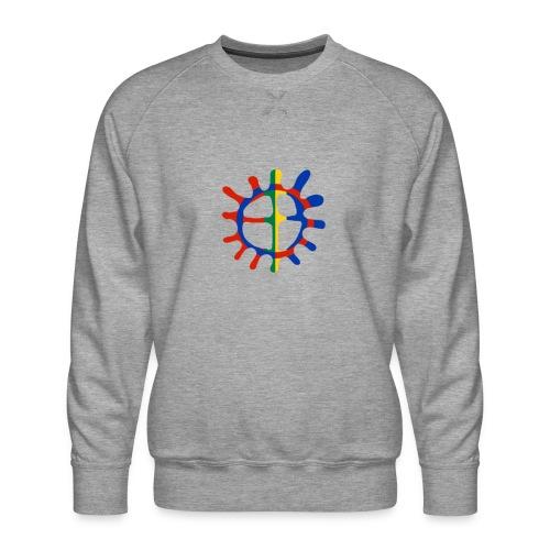Samisk sol - Premium-genser for menn