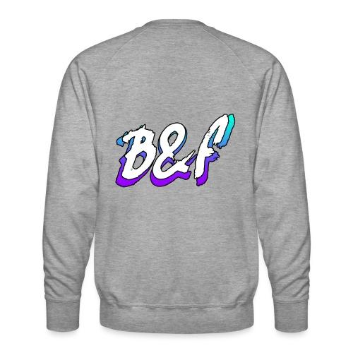 Purple and Blue Fade - Men's Premium Sweatshirt