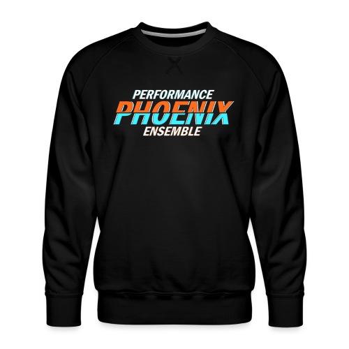 Phoenix Distorted Cyan - Männer Premium Pullover