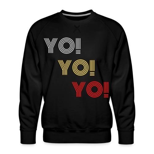 YO! - Männer Premium Pullover