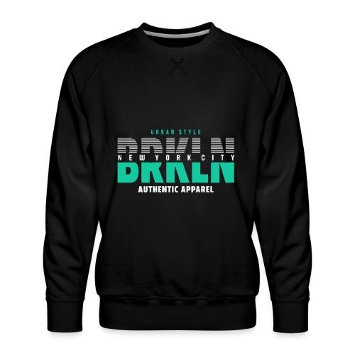 Brooklyn Urban Style - Männer Premium Pullover