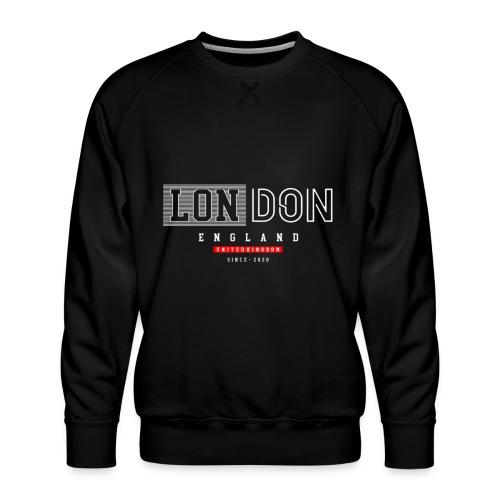 London England United Kingdom - Männer Premium Pullover