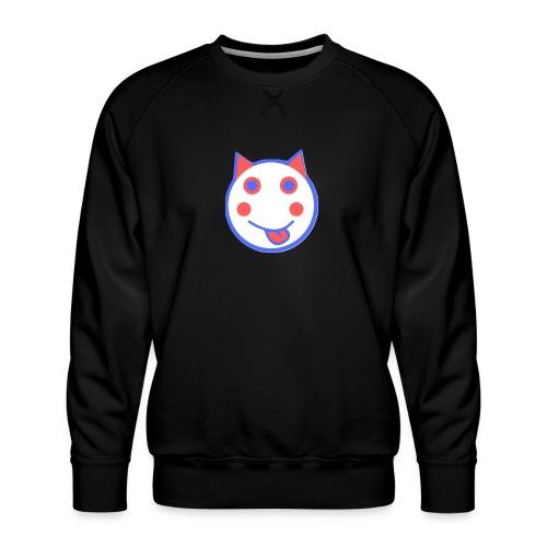 Red White And Blue - Alf Da Cat - Men's Premium Sweatshirt