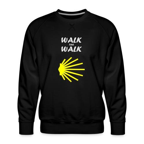 Walk the Walk - Camino de Santiago - Herre premium sweatshirt