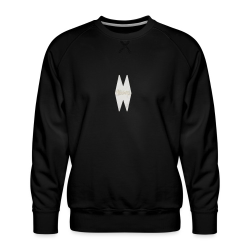 MELWILL white - Men's Premium Sweatshirt