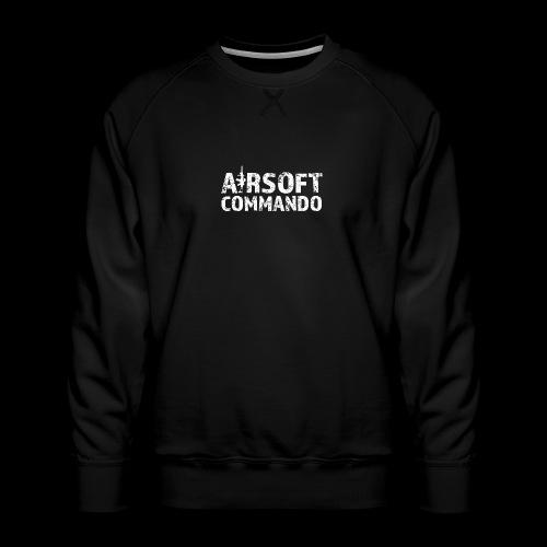 Airsoft Commando - Männer Premium Pullover