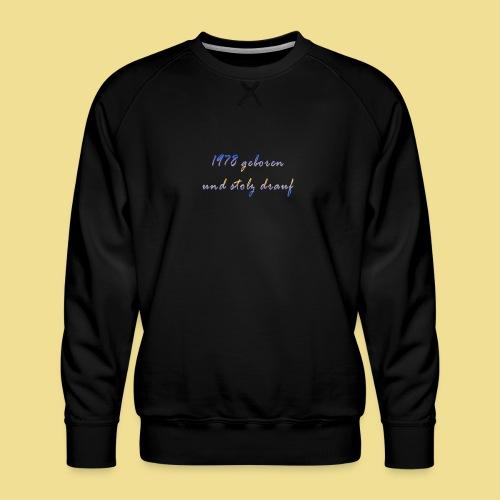 1978 - Männer Premium Pullover