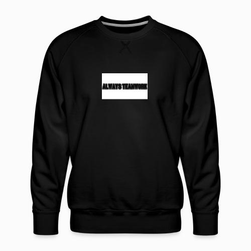 at team - Mannen premium sweater