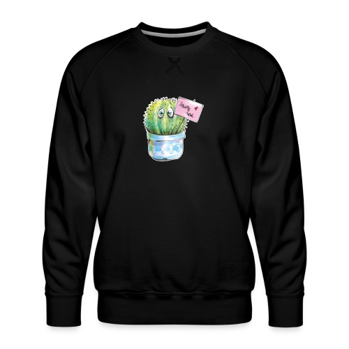 hug me - Männer Premium Pullover