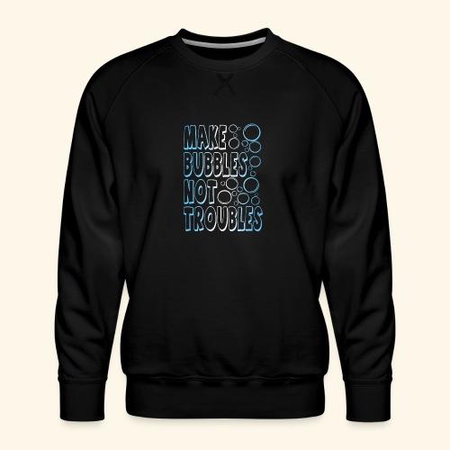 Bubbles001 - Mannen premium sweater