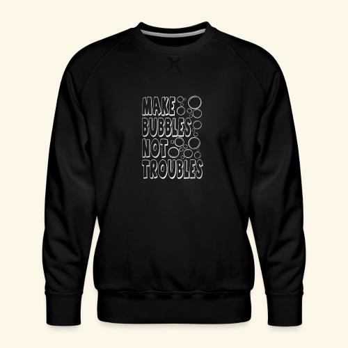 Bubbles003 - Mannen premium sweater
