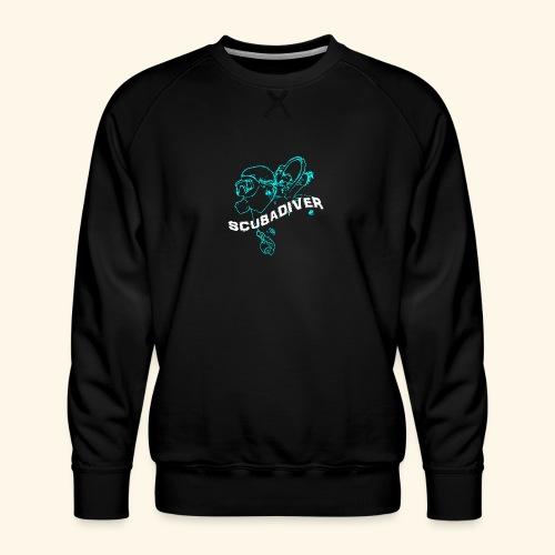 ScubaDiverShirt001 - Mannen premium sweater