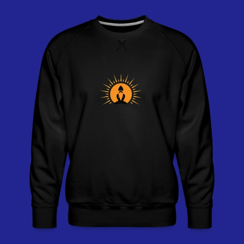 Guramylyfe logo no text black - Men's Premium Sweatshirt