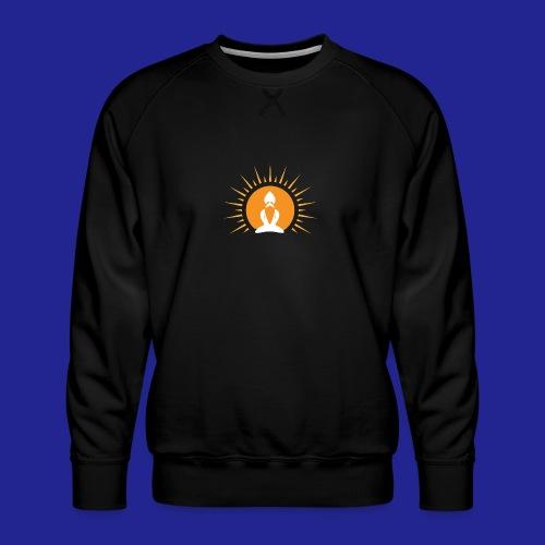 Guramylyfe logo white no text - Men's Premium Sweatshirt