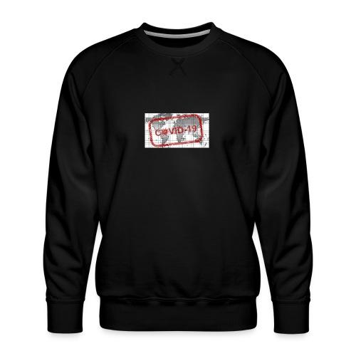 covid 19 - Männer Premium Pullover
