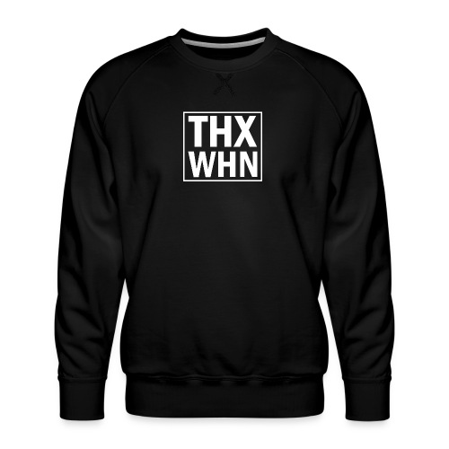 THX WHN - Thanks Wuhan (weiss) - Männer Premium Pullover