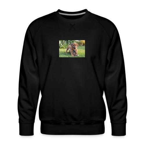 adorable puppies - Men's Premium Sweatshirt