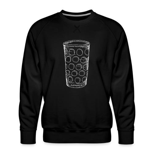 Dubbeglas un kä Blumevase - Männer Premium Pullover