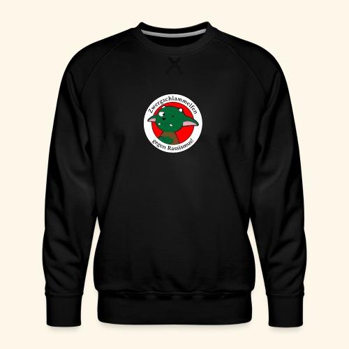 Zwergschlammelfen gegen Rassismus - Männer Premium Pullover
